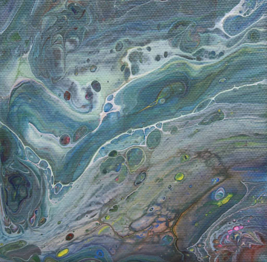 Artist Sally Rugala in Albuquerque NM original acrylic painting