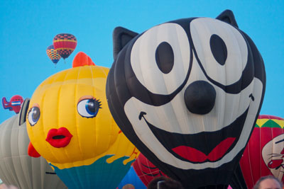 Unexpected Pals, hot air balloon, albuquerque international balloon fiesta